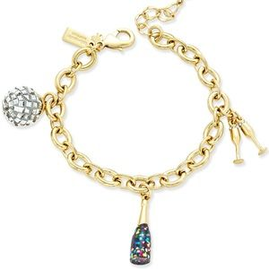 Kate Spade Holiday Charm Bracelet